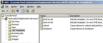 Figure 1. The ADS Management console