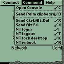 The VNC Client for Palm OS