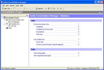 Aelita Consolidation Manager