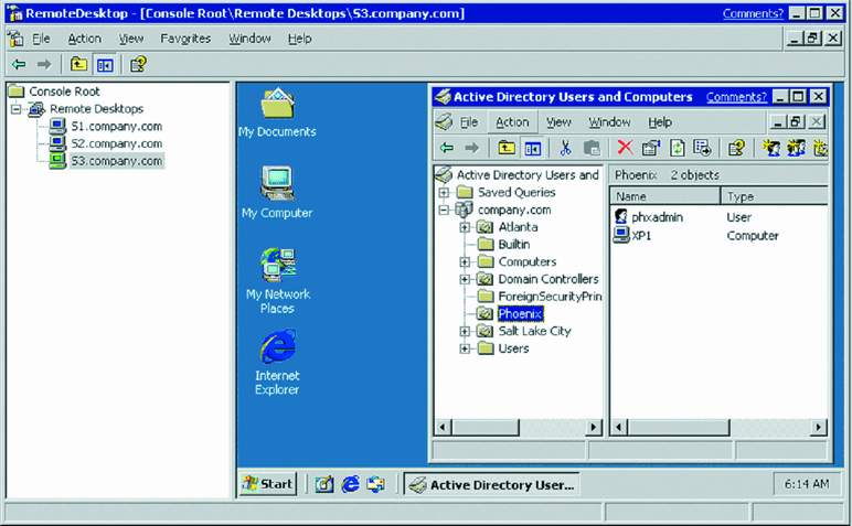 Sonic boom windows 2002 smashes the barrier microsoft certified professional magazine online - Remote desktop console mode ...