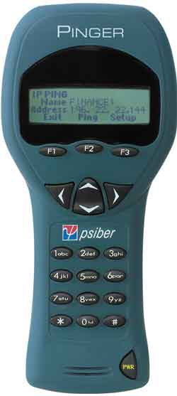 Pinger eases verifying of connectivity.
