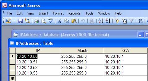 how to find ip address subnet mask and gateway