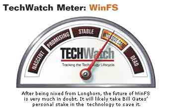 TechWatch: WinFS